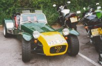 Lotus Seven at Box Hill